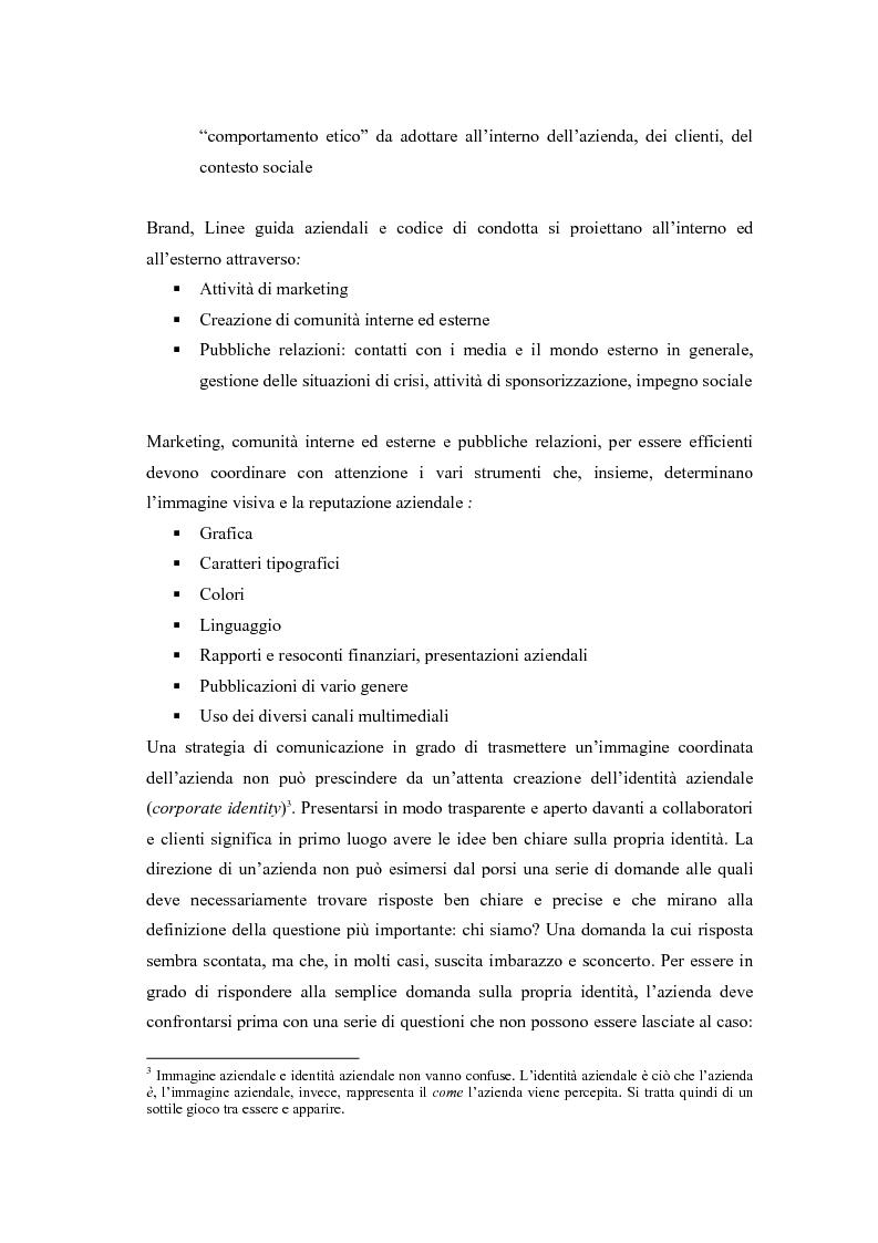 Anteprima della tesi: Comunicazione e l'identità oltre la comunicazione - Proiezioni e riflessioni sulla comunicazione aziendale delle Big Four Società di Consulenza Aziendale (PWC, KPMG, Ernst & Young, Deloitte), Pagina 5