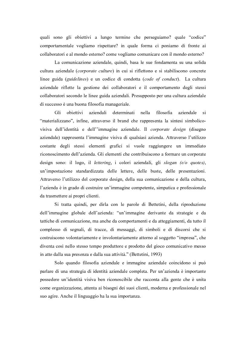 Anteprima della tesi: Comunicazione e l'identità oltre la comunicazione - Proiezioni e riflessioni sulla comunicazione aziendale delle Big Four Società di Consulenza Aziendale (PWC, KPMG, Ernst & Young, Deloitte), Pagina 6