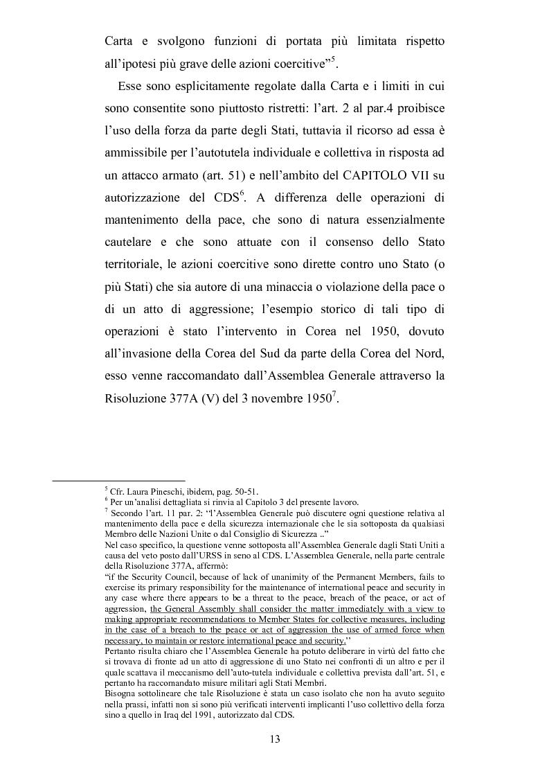 Anteprima della tesi: Intervento umanitario e diritto internazionale, Pagina 6