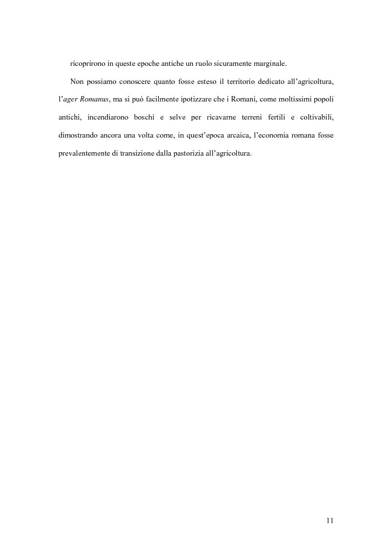 Anteprima della tesi: Storia economica di Roma antica, dalla fondazione della città al crollo dell'Impero, Pagina 8
