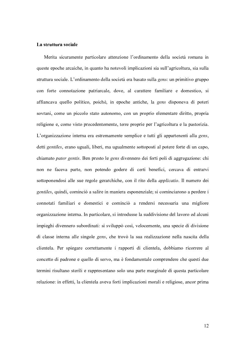 Anteprima della tesi: Storia economica di Roma antica, dalla fondazione della città al crollo dell'Impero, Pagina 9