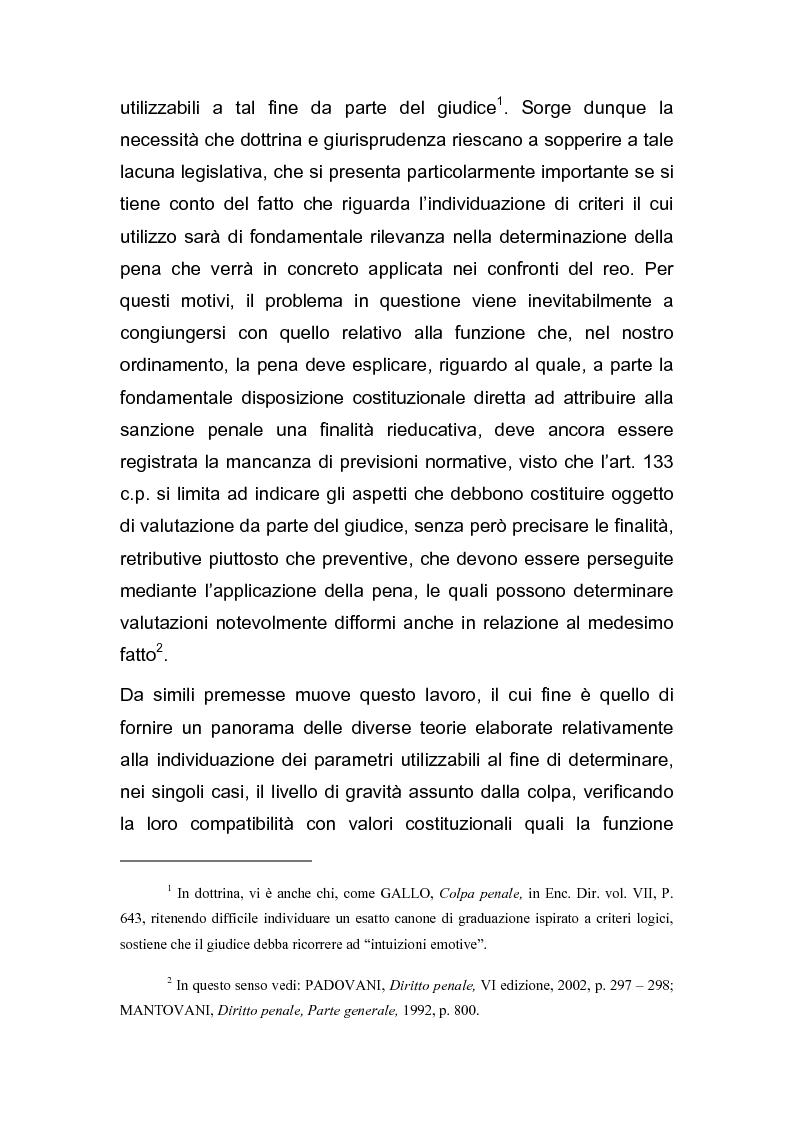 Anteprima della tesi: Il grado della colpa, Pagina 2