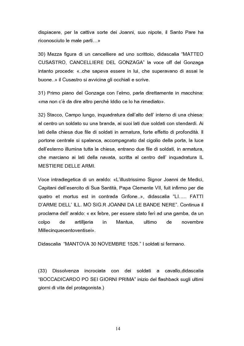 Anteprima della tesi: ''Il mestiere delle Armi'' di Ermanno Olmi: Forma, enunciazione, rappresentazione della morte, Pagina 10