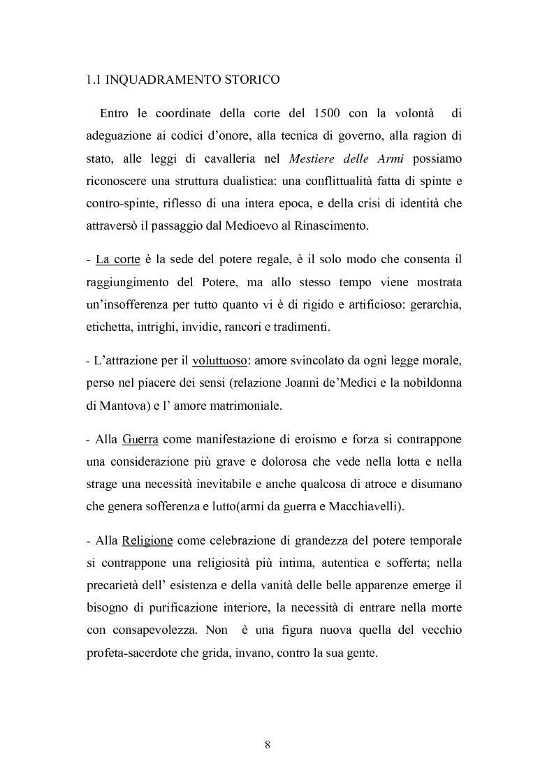 Anteprima della tesi: ''Il mestiere delle Armi'' di Ermanno Olmi: Forma, enunciazione, rappresentazione della morte, Pagina 4