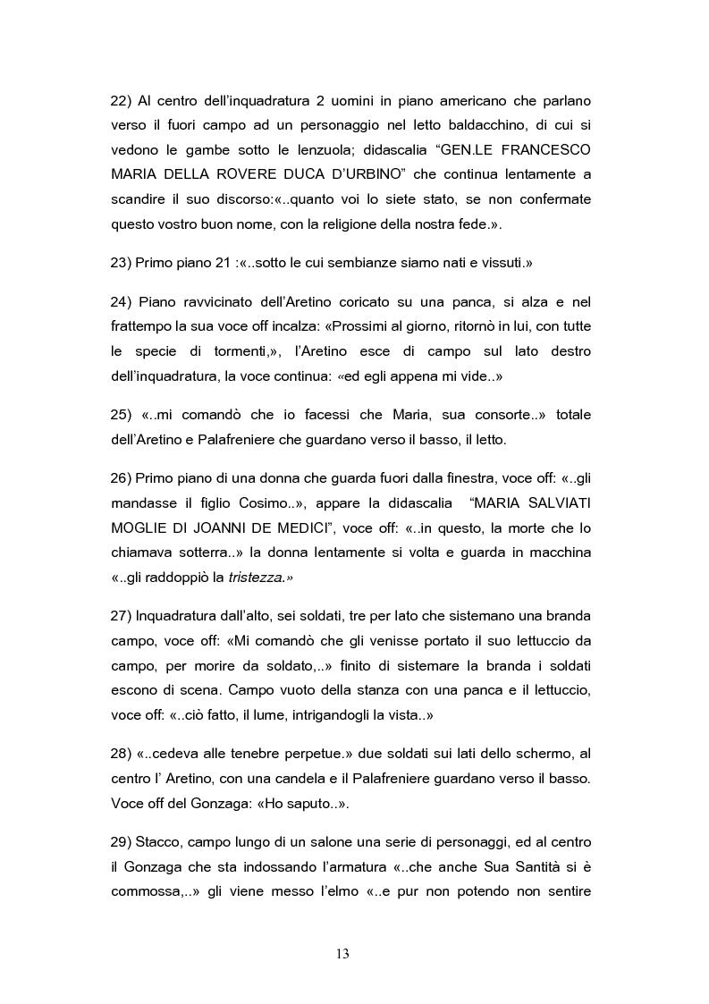 Anteprima della tesi: ''Il mestiere delle Armi'' di Ermanno Olmi: Forma, enunciazione, rappresentazione della morte, Pagina 9