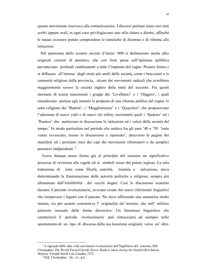 Anteprima della tesi: Mercurius Aulicus e Mercurius Britanicus: Informazione e Propaganda nella Guerra Civile Inglese, Pagina 3