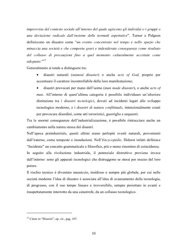 Anteprima della tesi: La comunicazione in Rete nelle emergenze: il caso del disastro dello shuttle Columbia, Pagina 8