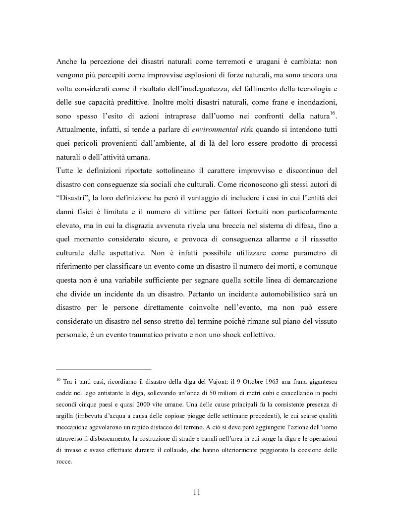 Anteprima della tesi: La comunicazione in Rete nelle emergenze: il caso del disastro dello shuttle Columbia, Pagina 9