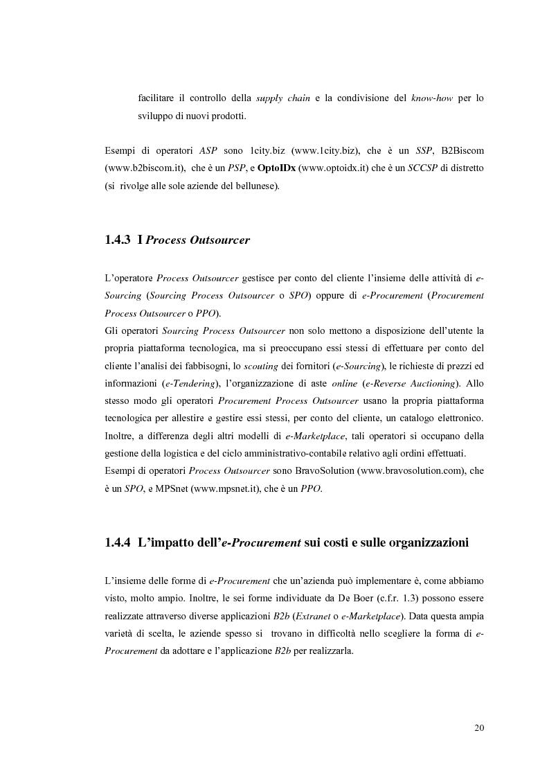 Anteprima della tesi: Valutazione dei sistemi di e-Procurement, Pagina 15