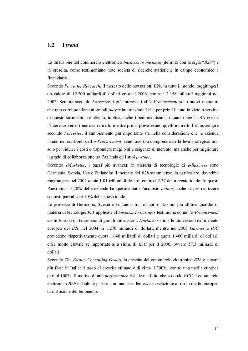 Anteprima della tesi: Valutazione dei sistemi di e-Procurement, Pagina 9