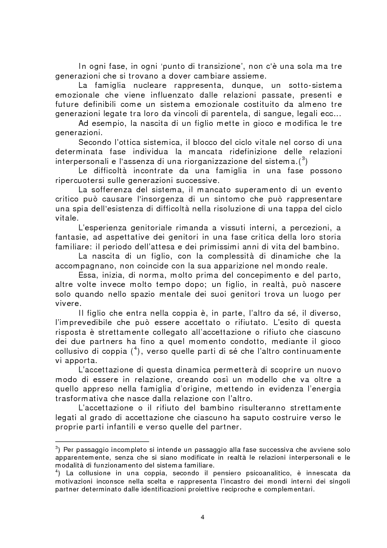 Anteprima della tesi: Rappresentazioni materne e paterne nella genitorialità, Pagina 2
