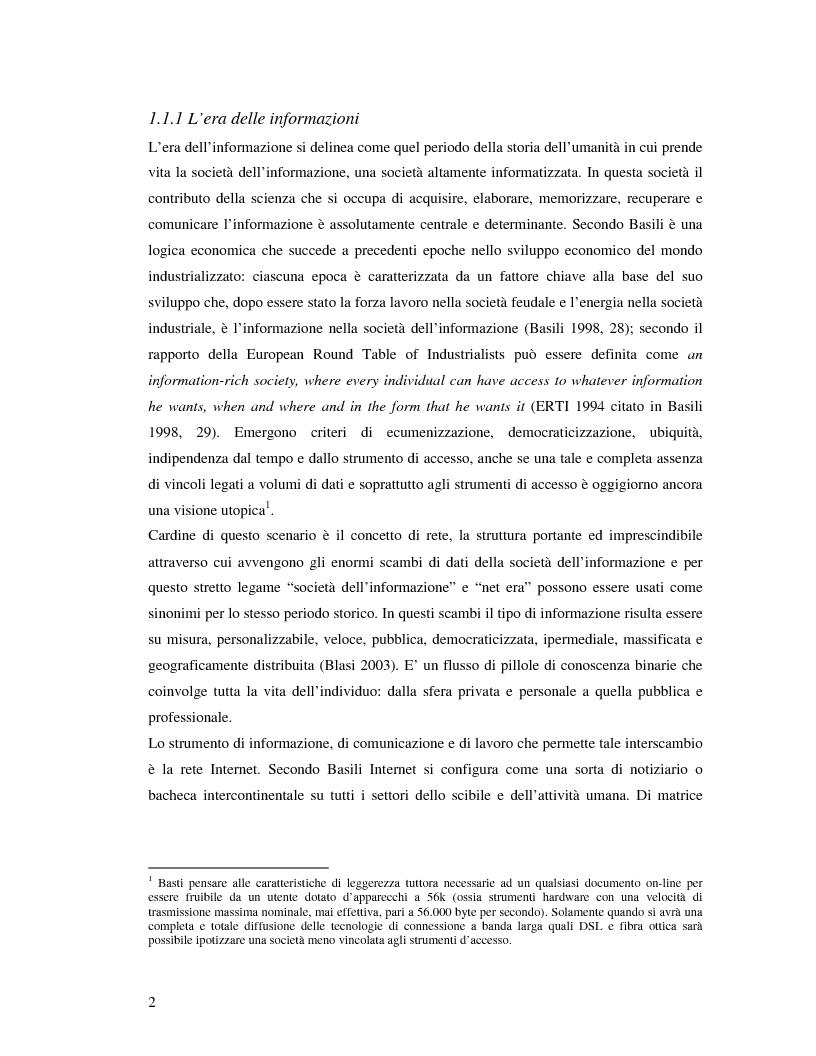 Anteprima della tesi: Marche e tessuto sociale: un approccio interdisciplinare. Dall'analisi dei valori di marca, all'ipotesi di una successione postmoderna delle istituzioni sociali., Pagina 7
