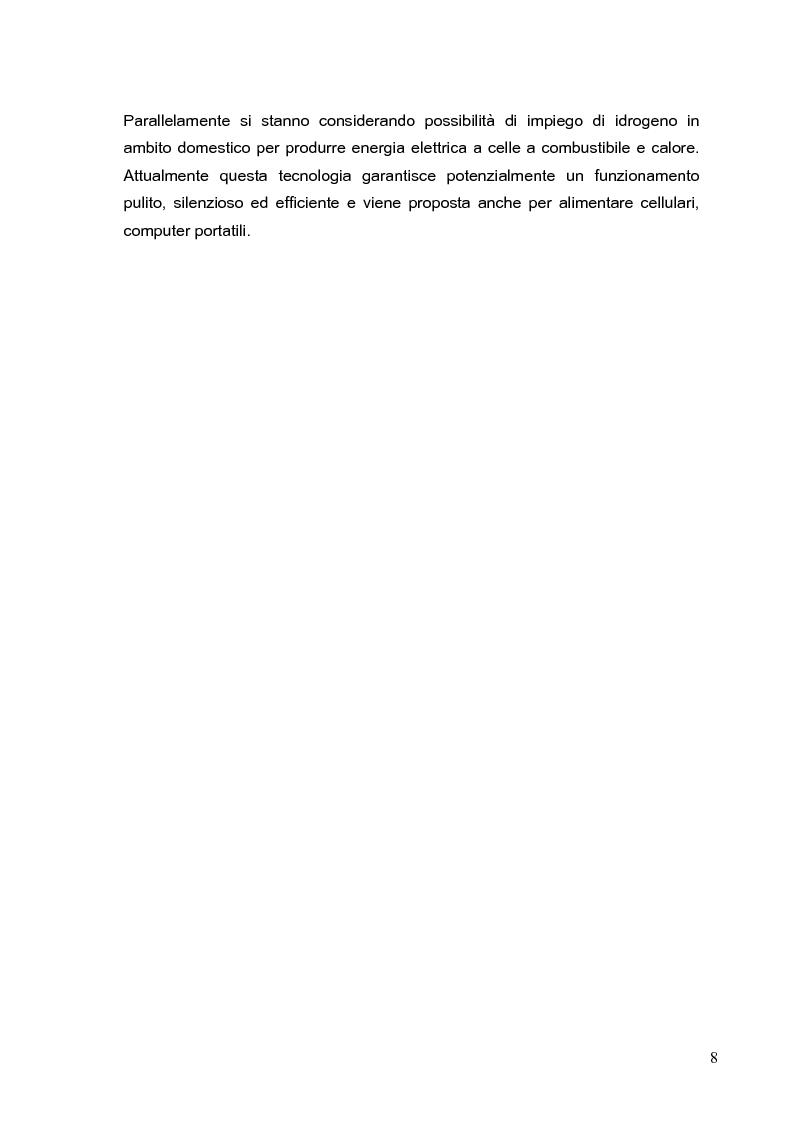 Anteprima della tesi: Tecniche di produzione dell'elettrolita nelle celle ad ossidi solidi SOFC, Pagina 8
