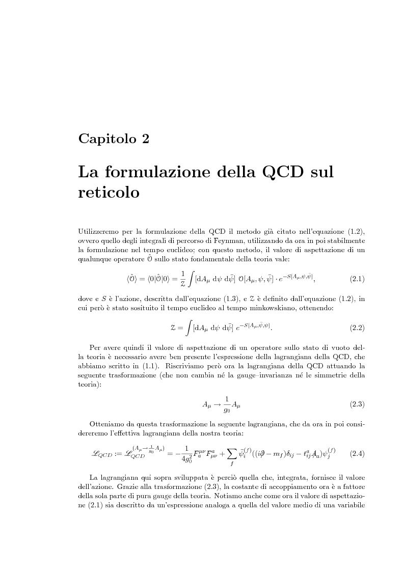 Anteprima della tesi: Transizione di fase di deconfinamento in Cromodinamica Quantistica a densità finita, Pagina 7