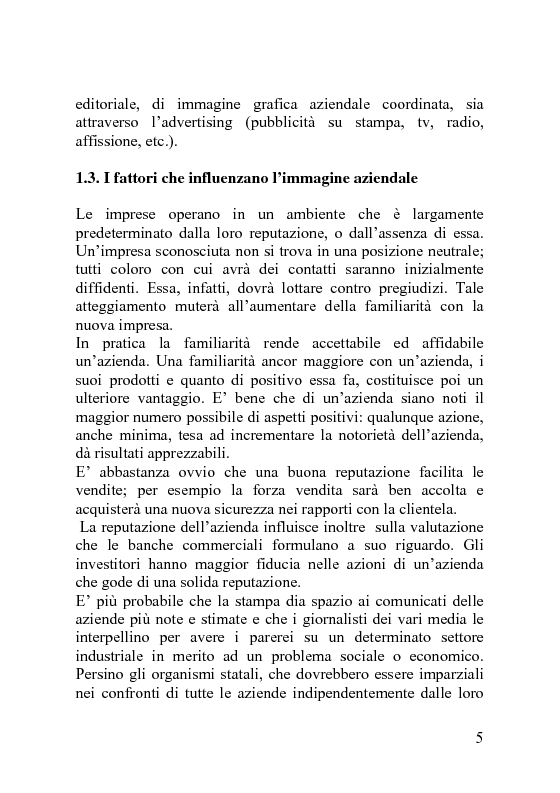 Anteprima della tesi: Il Visual Merchandising, Pagina 7