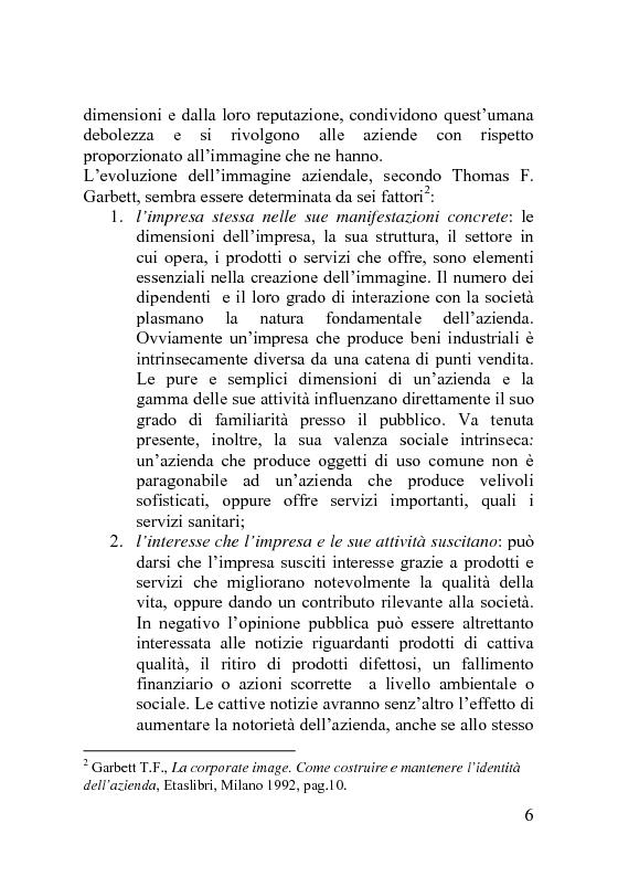Anteprima della tesi: Il Visual Merchandising, Pagina 8