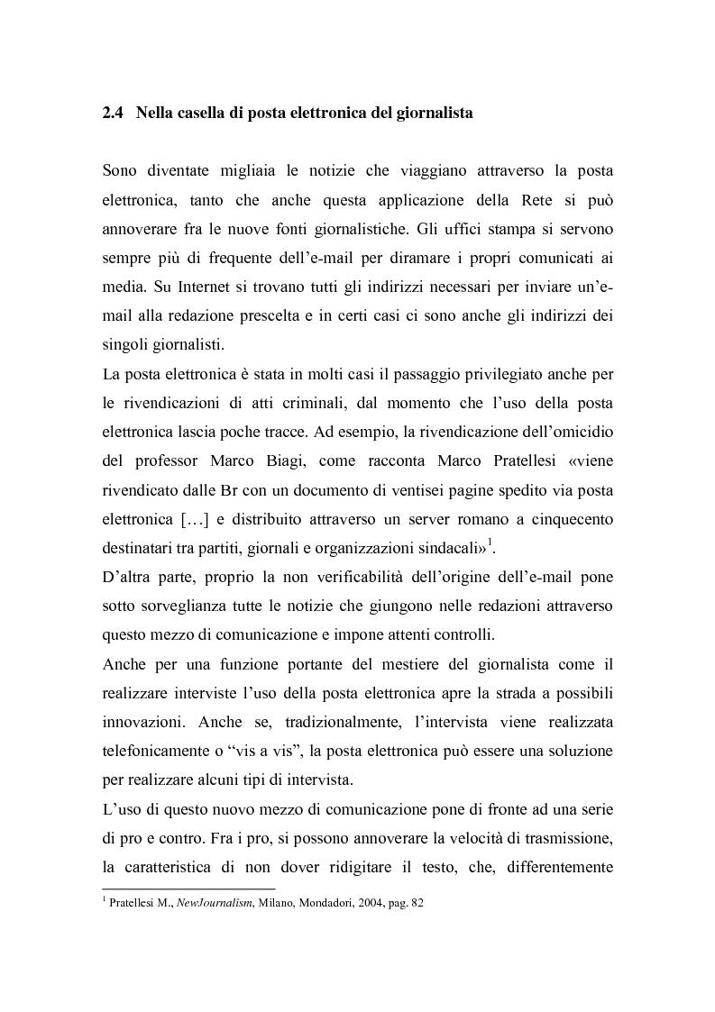 Anteprima della tesi: Nella Rete delle redazioni: viaggio dal Corriere dell'Umbria a Rai News 24, Pagina 1