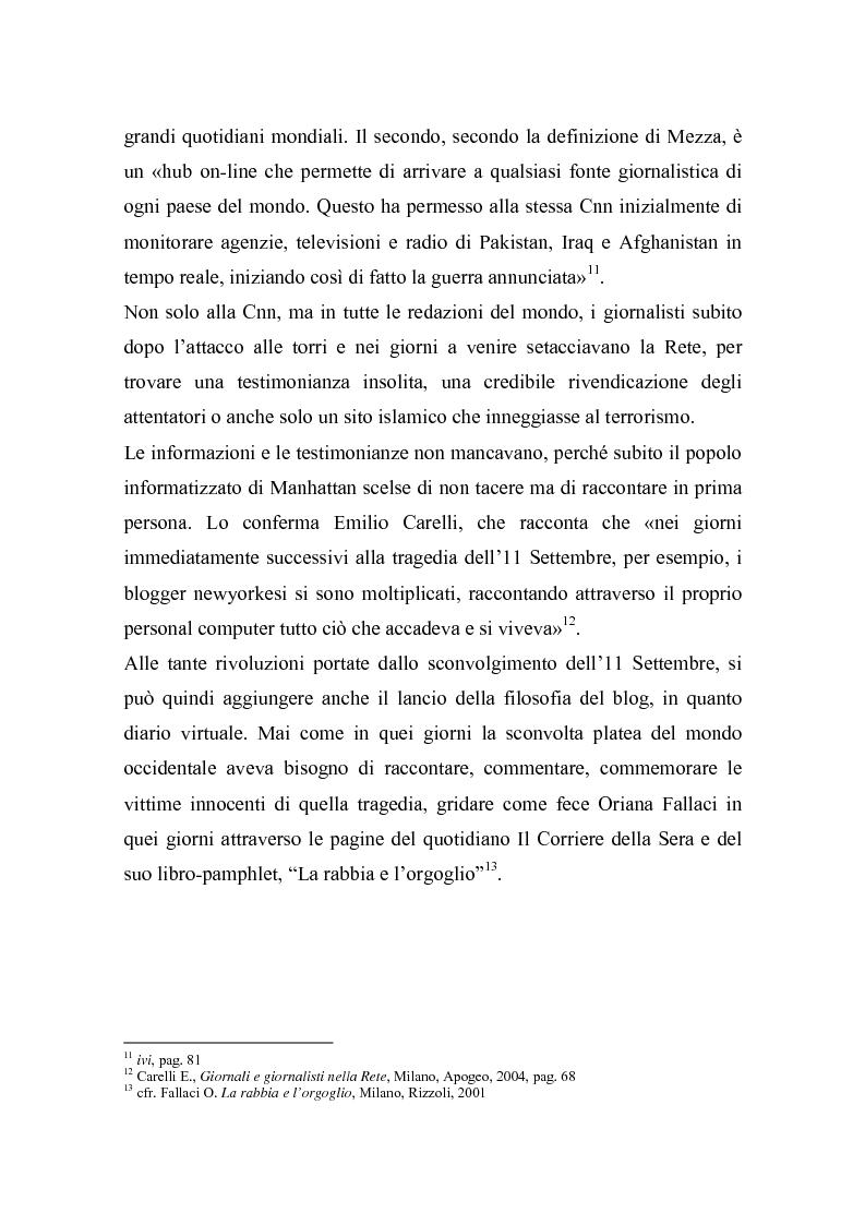 Anteprima della tesi: Nella Rete delle redazioni: viaggio dal Corriere dell'Umbria a Rai News 24, Pagina 7