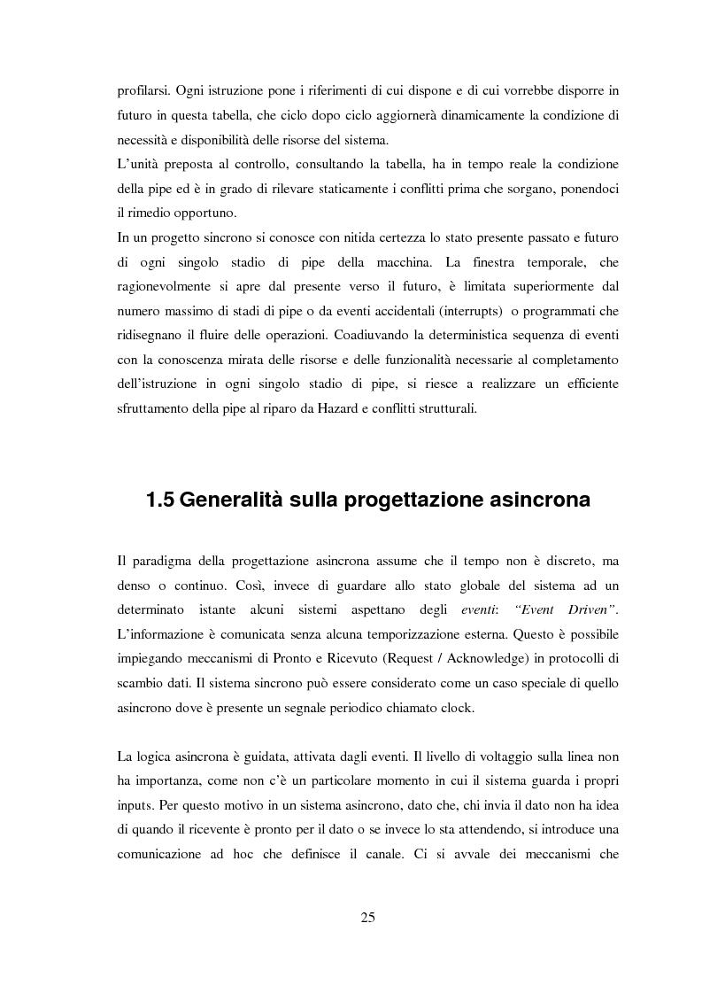 Anteprima della tesi: Progettazione di microprocessori asincroni per l'elaborazione numerica dei segnali, Pagina 15