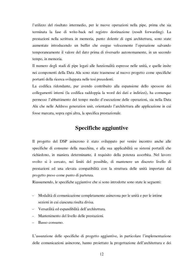 Anteprima della tesi: Progettazione di microprocessori asincroni per l'elaborazione numerica dei segnali, Pagina 2