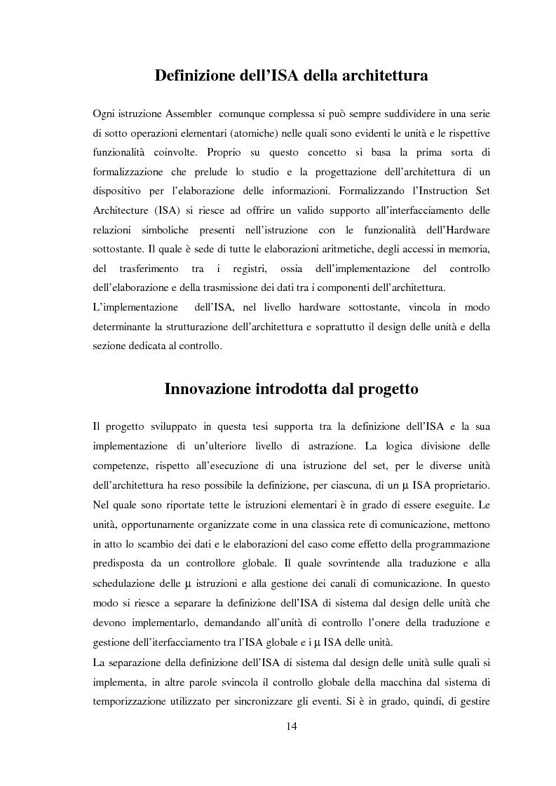 Anteprima della tesi: Progettazione di microprocessori asincroni per l'elaborazione numerica dei segnali, Pagina 4
