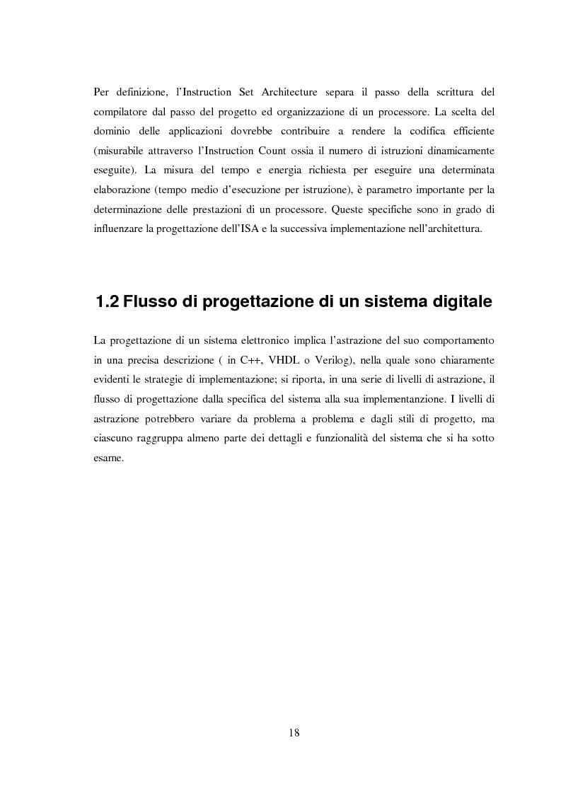Anteprima della tesi: Progettazione di microprocessori asincroni per l'elaborazione numerica dei segnali, Pagina 8
