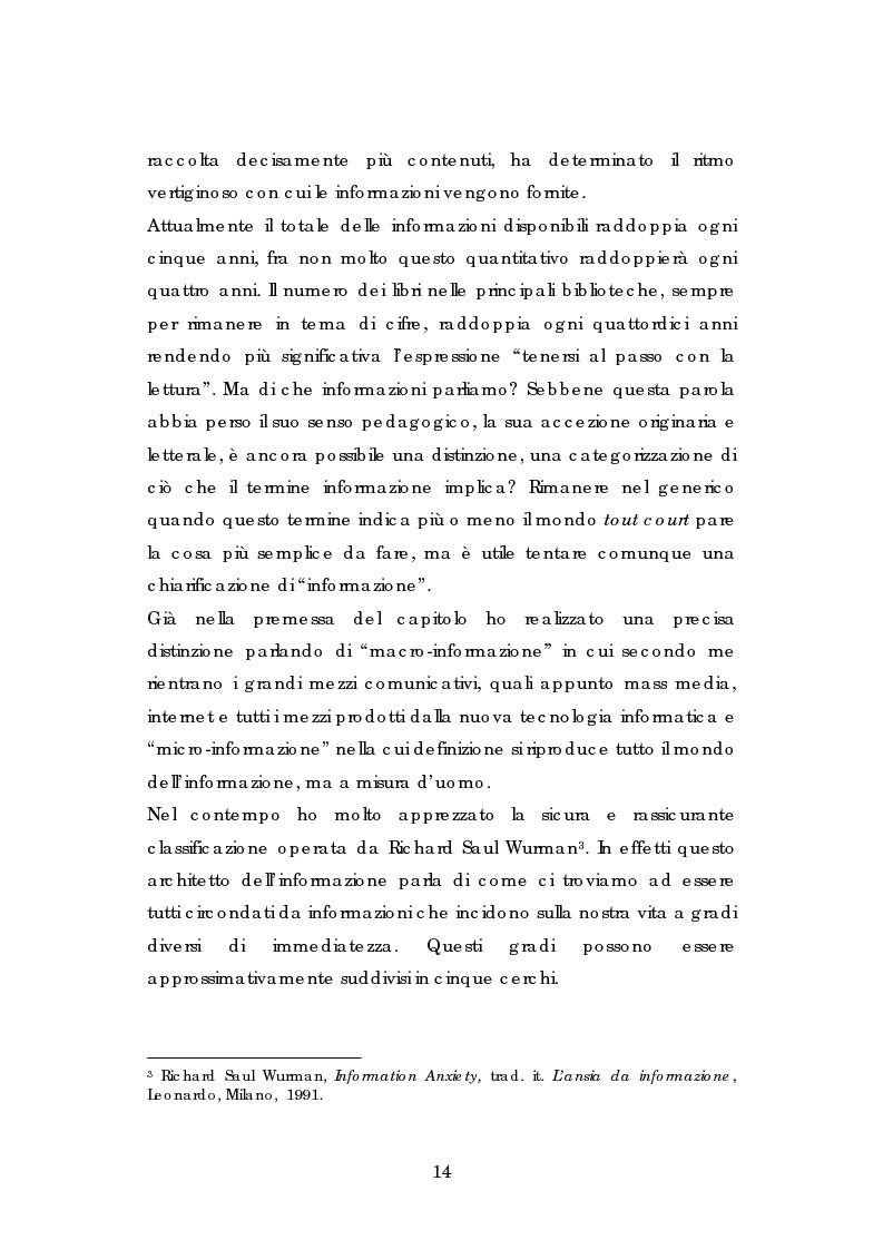 Anteprima della tesi: L' esperienza dell' Informagiovani . Una lettura pedagogica., Pagina 12