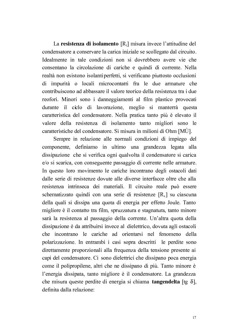Anteprima della tesi: Progettazione e applicazione di un sistema di controllo in una linea produttiva di componenti elettronici, Pagina 10