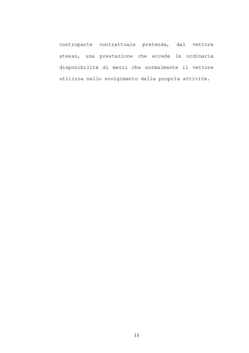 Anteprima della tesi: Il contratto di trasporto di persone, con particolare riguardo ai profili di tutela del consumatore, Pagina 10