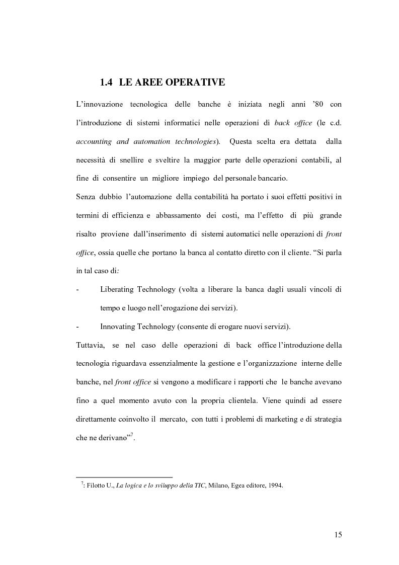 Anteprima della tesi: La banca virtuale: sviluppo e sue caratteristiche, Pagina 11