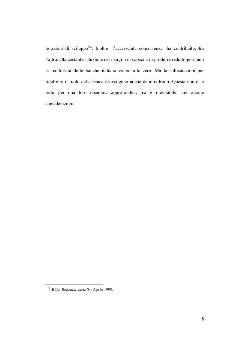 Anteprima della tesi: La banca virtuale: sviluppo e sue caratteristiche, Pagina 4