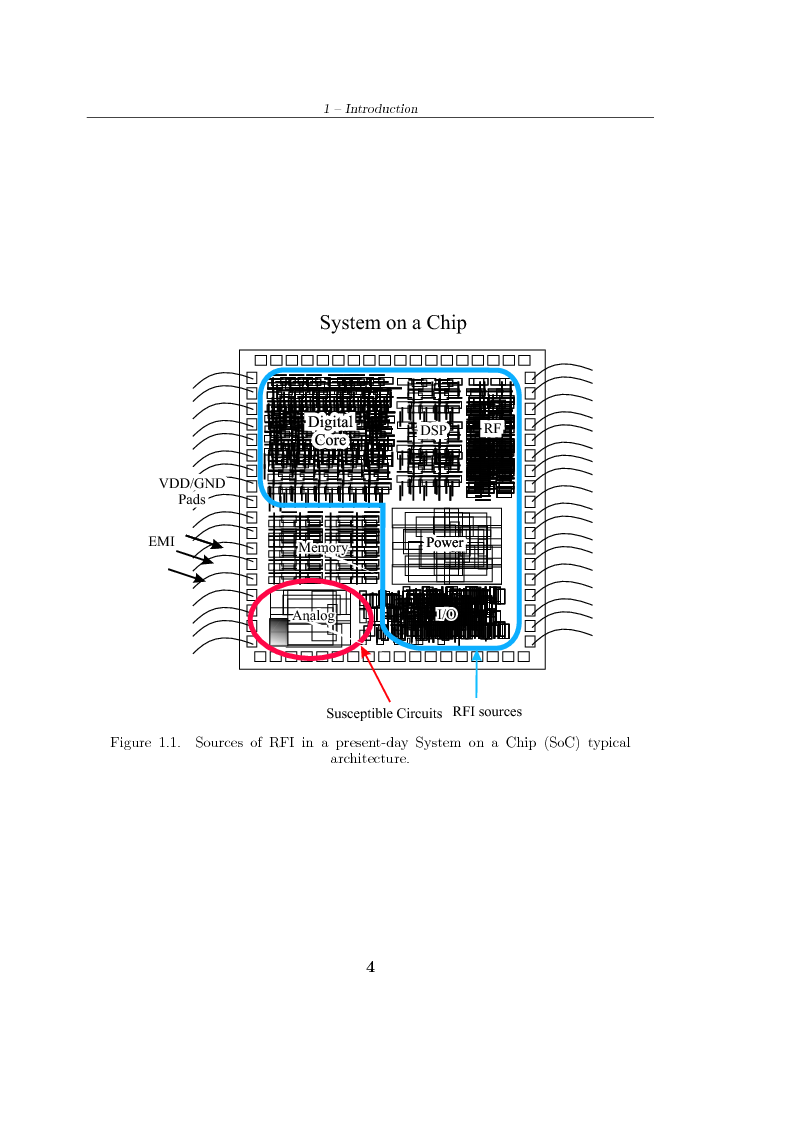 Anteprima della tesi: Design of Analog Integrated Circuits Robust to RF Interference, Pagina 4