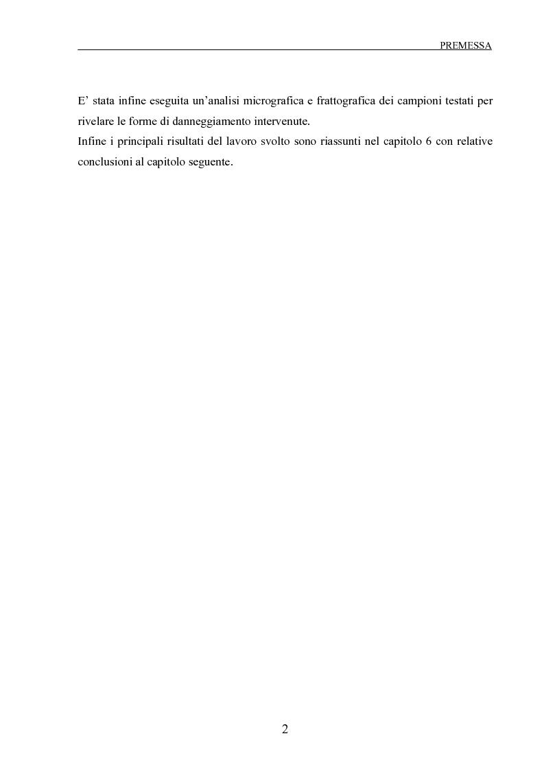 Anteprima della tesi: Scorrimento viscoso e danneggiamento in compositi a matrice metallica, Pagina 2