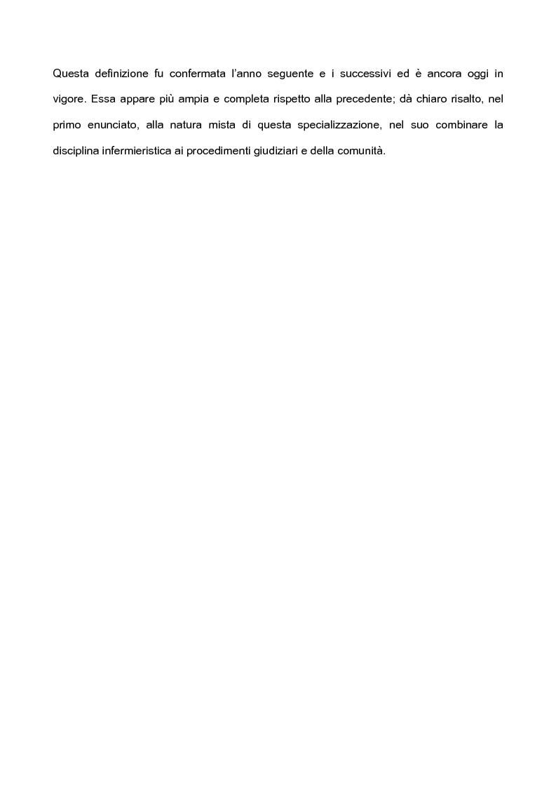 Anteprima della tesi: L'infermieristica legale ''Nurse Forensic'', Pagina 6