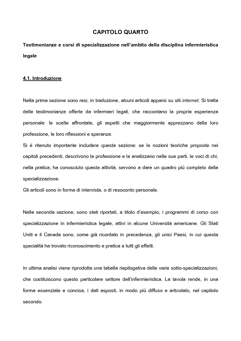 Anteprima della tesi: L'infermieristica legale ''Nurse Forensic'', Pagina 9
