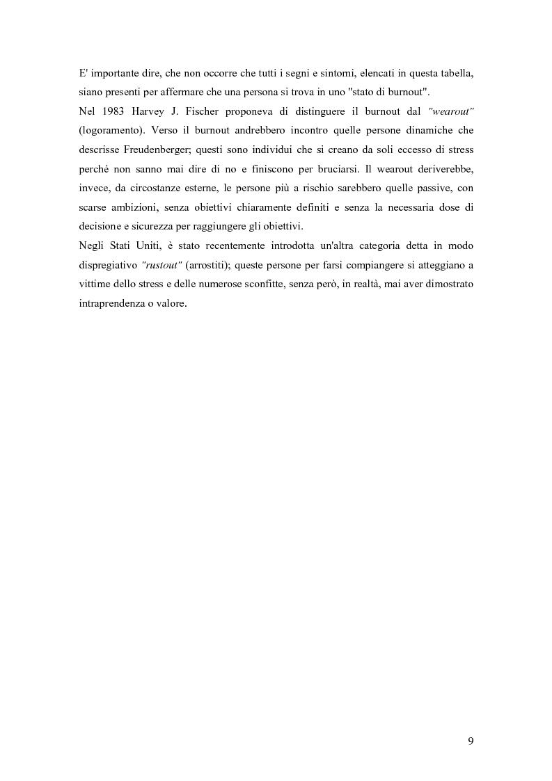 Anteprima della tesi: Dinamiche relazionali e organizzative in un contesto ospedaliero, Pagina 7