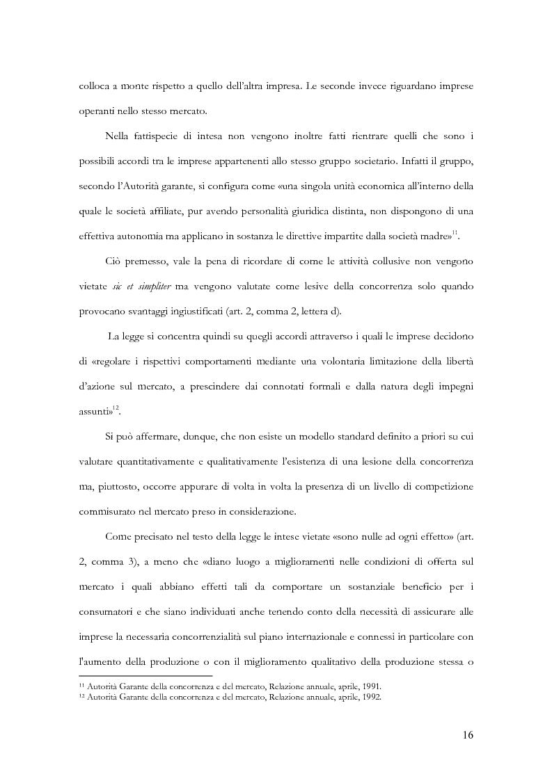 Anteprima della tesi: Profili evolutivi della trasparenza bancaria: dal testo unico delle leggi in materia bancaria e creditizia al progetto PattiChiari, Pagina 12