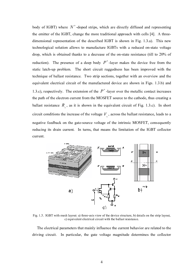 Anteprima della tesi: Analysis, Modelling and Application of Advanced Power Semiconductor Devices, Pagina 9