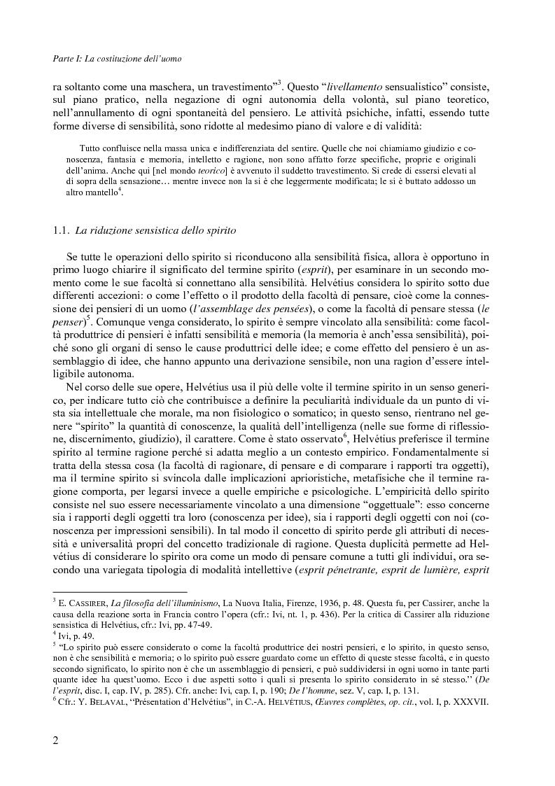 Anteprima della tesi: Felicità e società nel pensiero di C.-A. Helvétius, Pagina 5