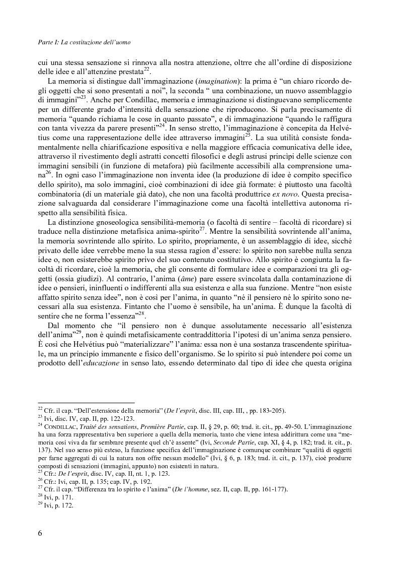 Anteprima della tesi: Felicità e società nel pensiero di C.-A. Helvétius, Pagina 9