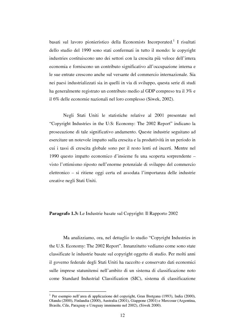 Anteprima della tesi: Il Ruolo del Capitale Sociale nel dualismo arte-industria: il caso dell'Industria Cinematografica Statunitense, Pagina 4