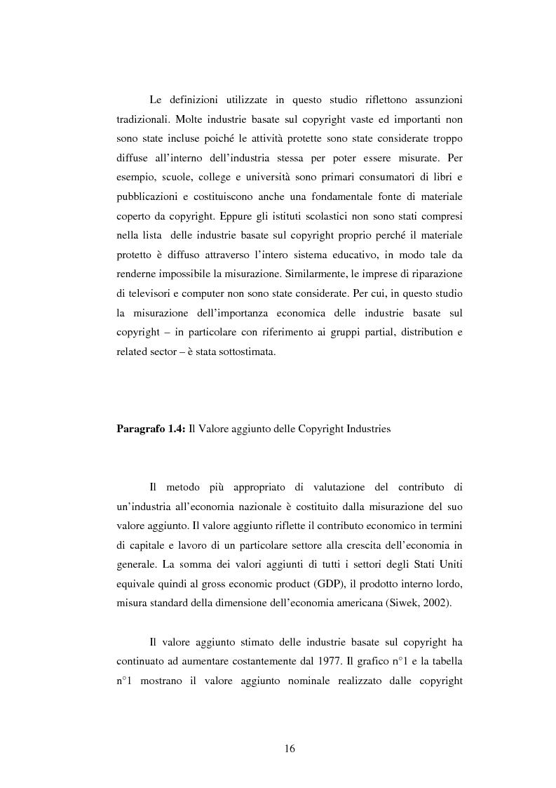 Anteprima della tesi: Il Ruolo del Capitale Sociale nel dualismo arte-industria: il caso dell'Industria Cinematografica Statunitense, Pagina 8