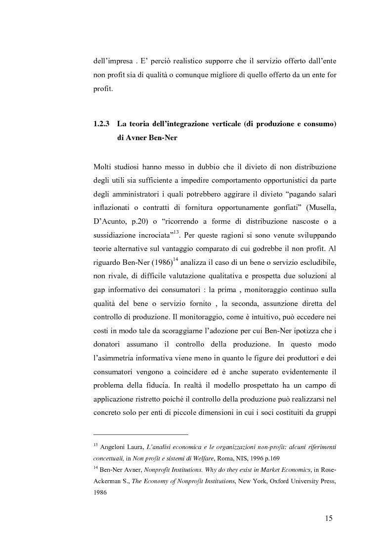 Anteprima della tesi: Non profit e fondazioni, Pagina 10