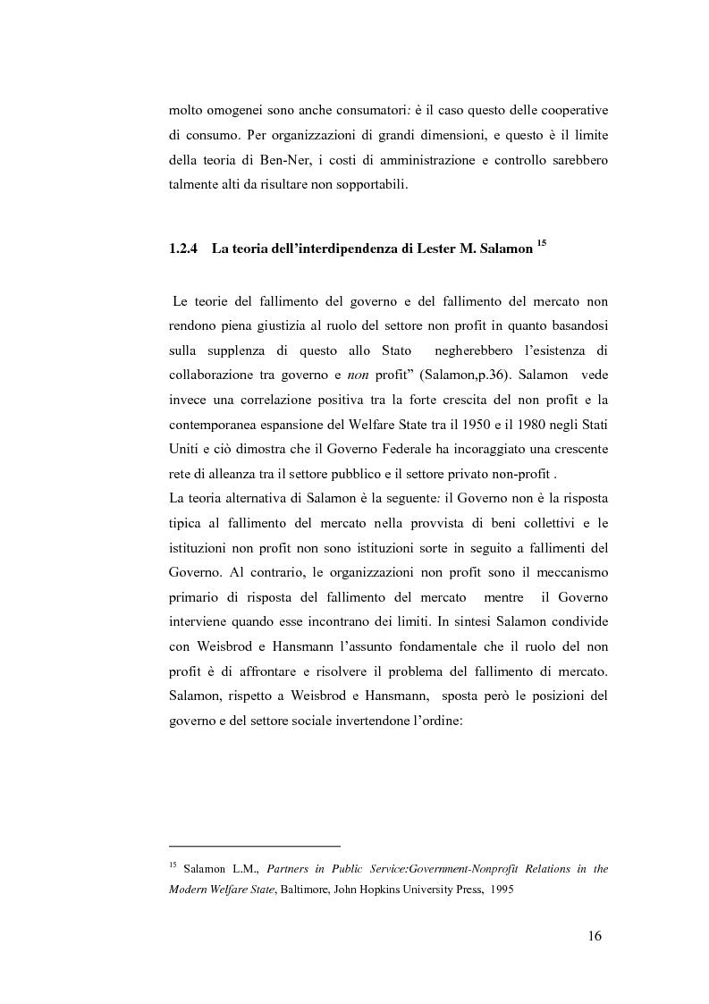 Anteprima della tesi: Non profit e fondazioni, Pagina 11