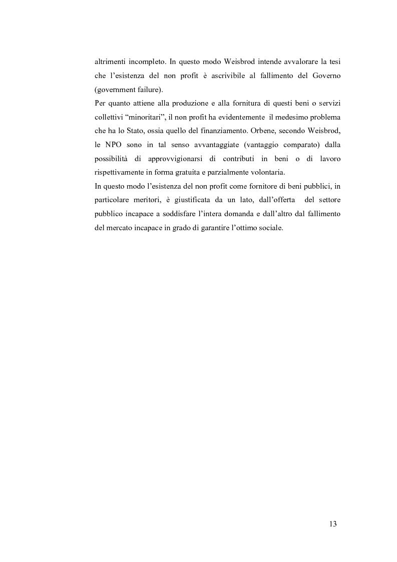 Anteprima della tesi: Non profit e fondazioni, Pagina 8