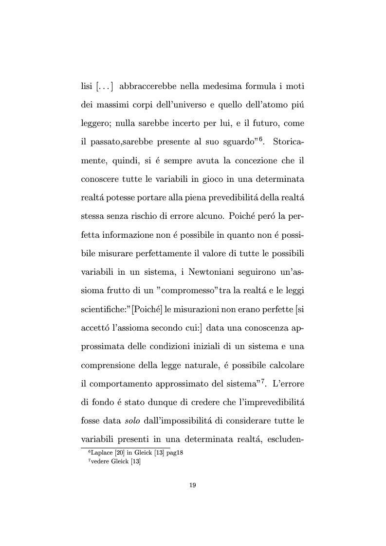 Anteprima della tesi: Non linearità e perturbazioni nei mercati. Analisi dinamica microfondata di un modello con scorte, Pagina 10
