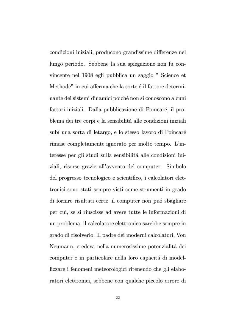 Anteprima della tesi: Non linearità e perturbazioni nei mercati. Analisi dinamica microfondata di un modello con scorte, Pagina 13