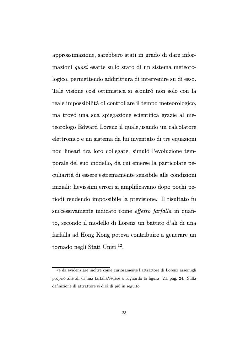 Anteprima della tesi: Non linearità e perturbazioni nei mercati. Analisi dinamica microfondata di un modello con scorte, Pagina 14