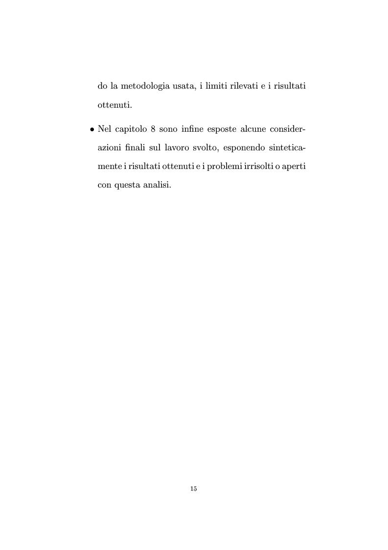 Anteprima della tesi: Non linearità e perturbazioni nei mercati. Analisi dinamica microfondata di un modello con scorte, Pagina 6