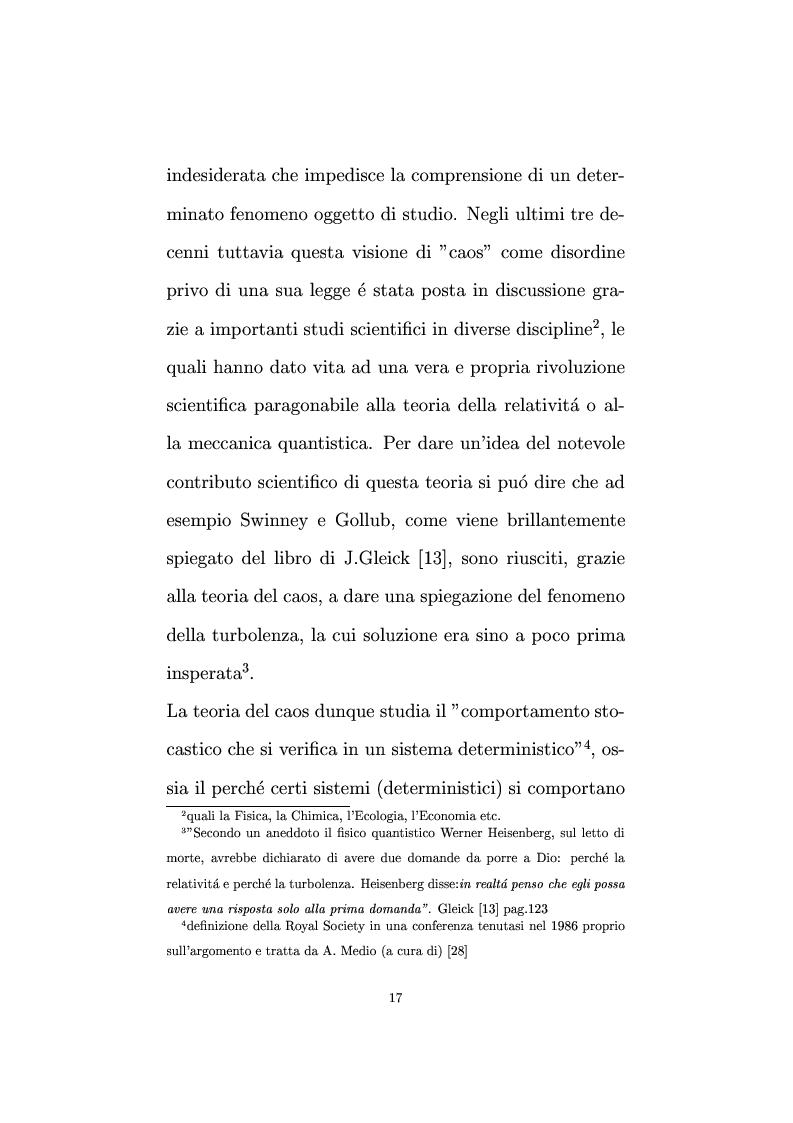 Anteprima della tesi: Non linearità e perturbazioni nei mercati. Analisi dinamica microfondata di un modello con scorte, Pagina 8
